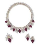 A Suite of Ruby and Diamond Jewelry, by Buccellati
