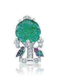 Multi-gem and Diamond Brooch, by Cartier
