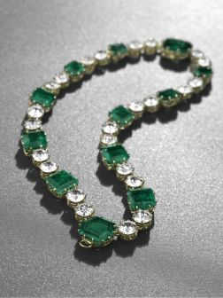 Magnificent Emerald and Diamond Necklace, by Cartier